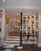 Interior of Gallery 28 in Geneva, IL